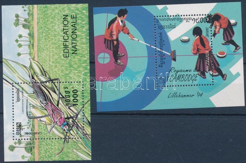 1993-1994 Nature and Sport blocks, 1993-1994 Természet és Sport blokkok