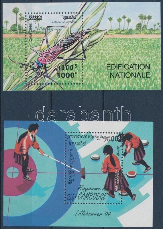 1993-1994 Természet és Sport blokkok, 1993-1994 Nature and Sports blocks
