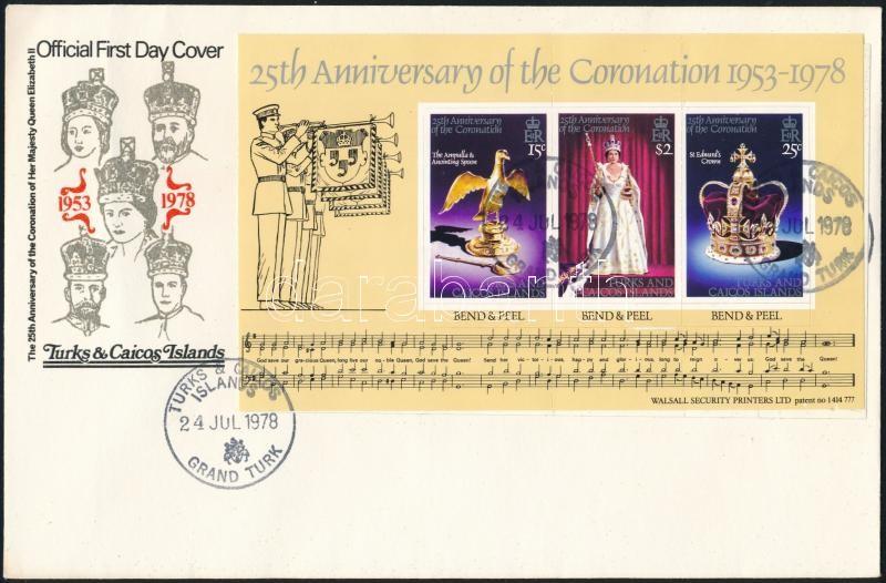 Elizabeth stamp-booklet sheet FDC, Erzsébet bélyegfüzetlap FDC-n