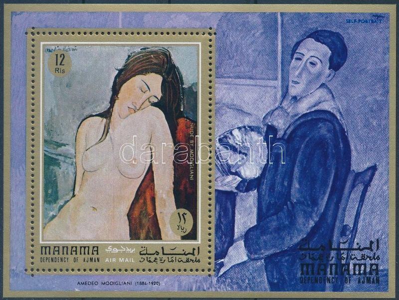 Modigliani's nude block, Modigliani aktjai blokk
