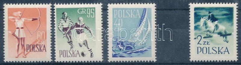 Sports set (Mi 1089 shifted blue colour print), Sport sor (Mi 1089 eltolódott kék színnyomat)