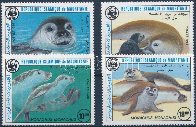WWF: Seals set, WWF: Fókák sor
