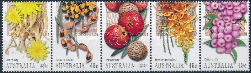 Fruits set stripe of 5, Gyümölcsök ötöscsík