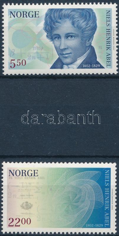 Niels Henrik Abel's 200th birthday set, Niels Henrik Abel 200. születésnapja sor