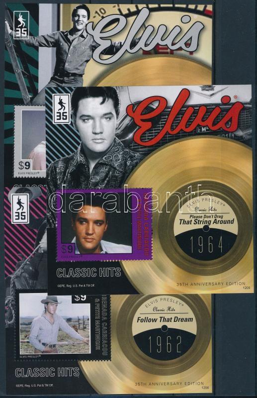 Elvis Presley 3 db blokk, Elvis Presley 3 blocks