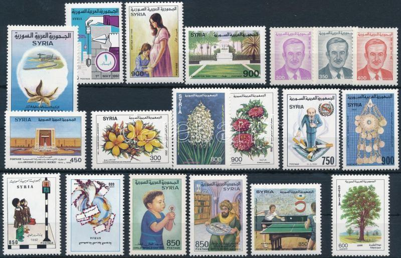 19 stamps, 19 klf bélyeg
