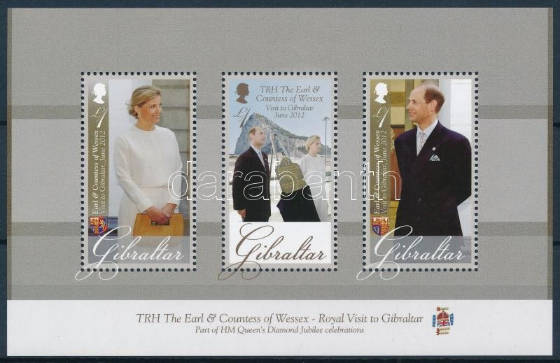 Earl Edward and Countess Sophie block, Edward gróf és Sophie grófnő látogatása blokk