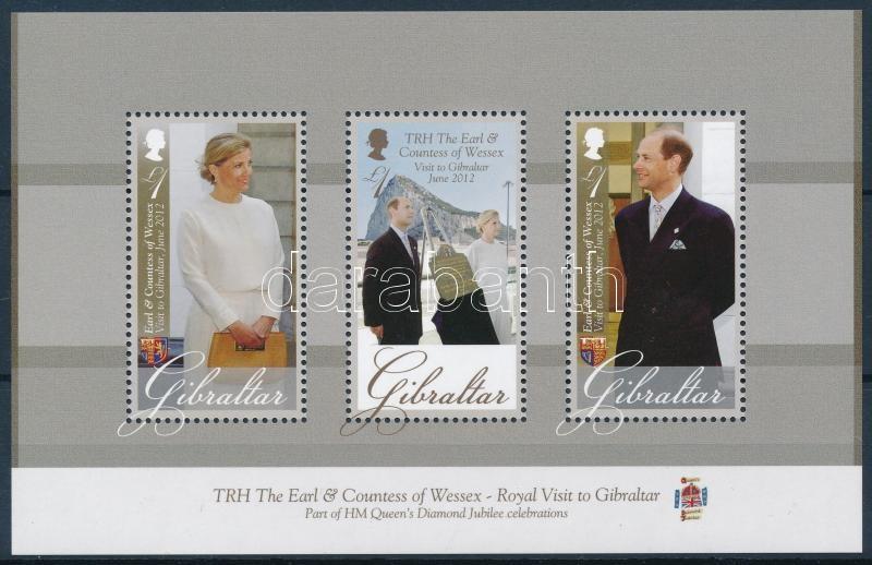 Visit of Prince Edward and Countess Sophie block, Edward gróf és Sophie grófnő látogatása blokk