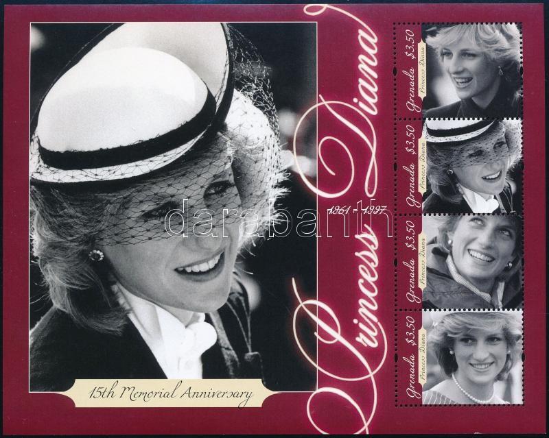Lady Diana 2 mini sheets, Lady Diana 2 klf kisív