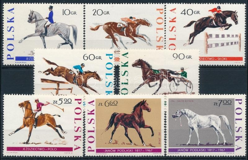 Horses set, Lovak sor