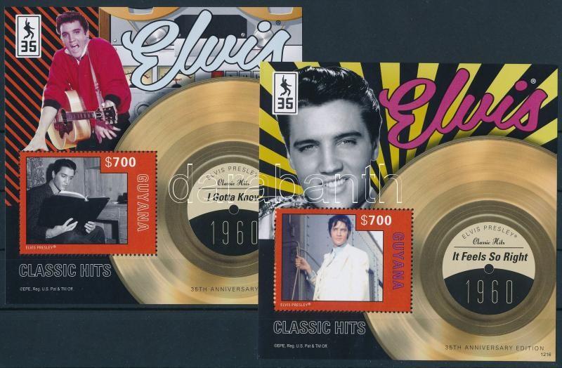 Elvis Presley block set, Elvis Presley blokksor