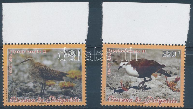 Őshonos madarak ívszéli sor, Indigenous birds margin set