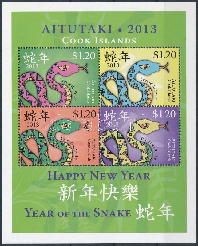 Chinese New Year: Year of the Snake block, Kínai Újév: Kígyó éve blokk