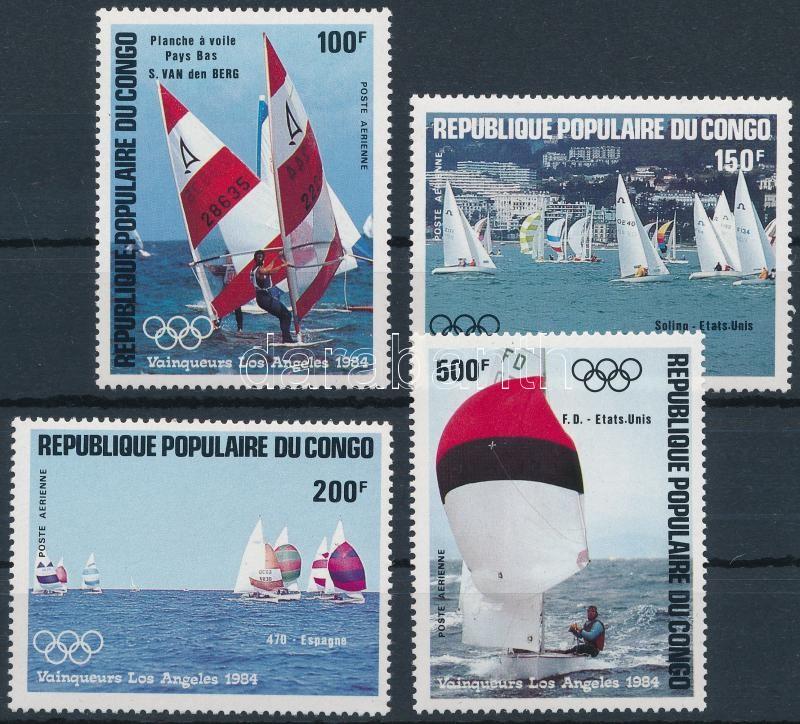 Olympic medalist, sailboats set, Olimpiai érmesek, vitorlások sor