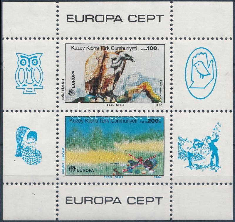 Europa CEPT, Nature protection block, Europa CEPT, Természetvédelem blokk