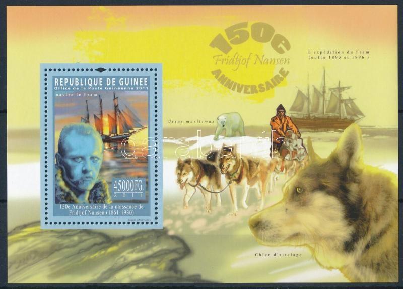 Fridtjof Nansen block, Fridtjof Nansen, norvég Nobel-békadíjas sarkkutató blokk