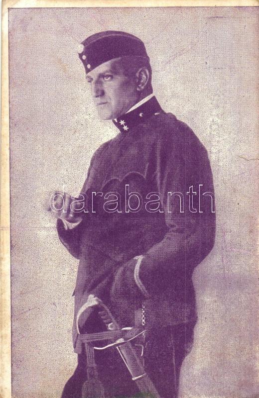 Frigyes Tanay Hungarian actor, Tanay Frigyes, önkéntes huszártizedesként. Mészöly felvétele
