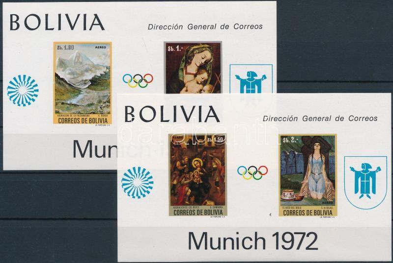 Summer Olympics, Munich block set, Nyári Olimpia, München blokk sor