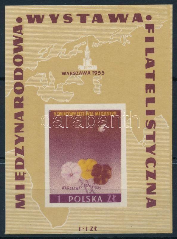 Nemzetközi Bélyegkiállítás blokk, International Stemp Exhibition block