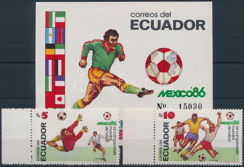 Football World Cup + block, Labdarúgó VB + blokk