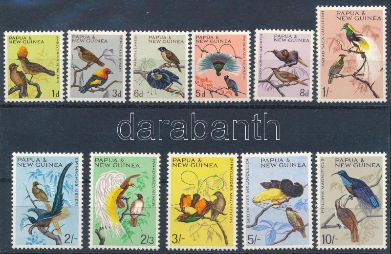 Indigenous birds set, Őshonos madarak sor