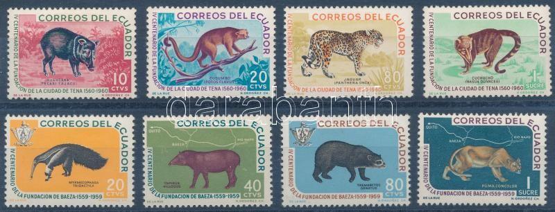 1960-1961 Animals 2 set, 1960-1961 Állatok 2 db sor