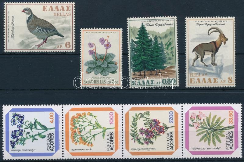 Nature 1970-1982 2 sets, Élővilág motívum 1970-1982 2 klf sor