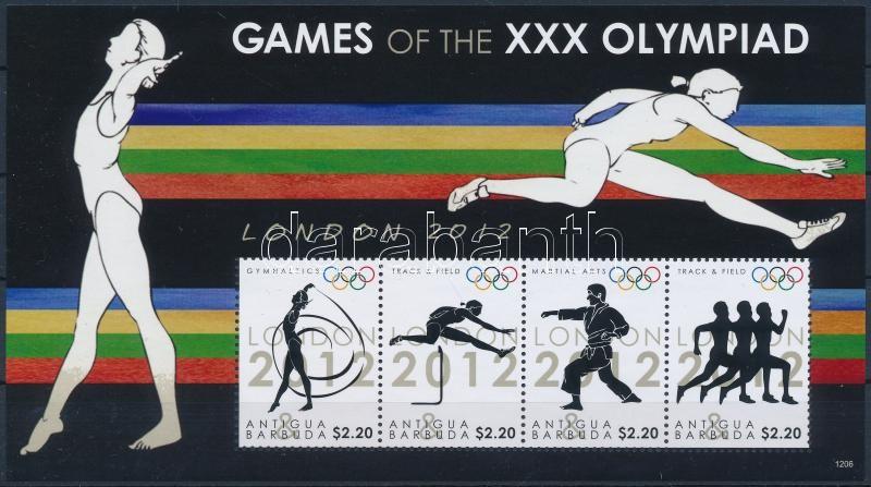 Summer Olympics: London minisheet, Nyári Olimpia: London kisív