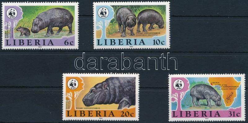 WWF: Törpe víziló sor, WWF: Pygmy hippopotamus set
