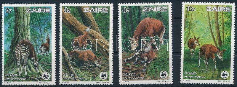 WWF: Okapi set, WWF: Okapi sor