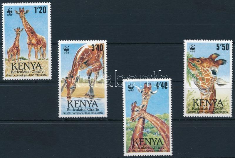 Reticulated giraffe set, WWF: Recés zsiráf sor