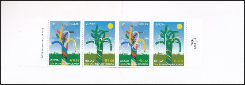Europa CEPT bélyegfüzet, Europa CEPT samp-booklet
