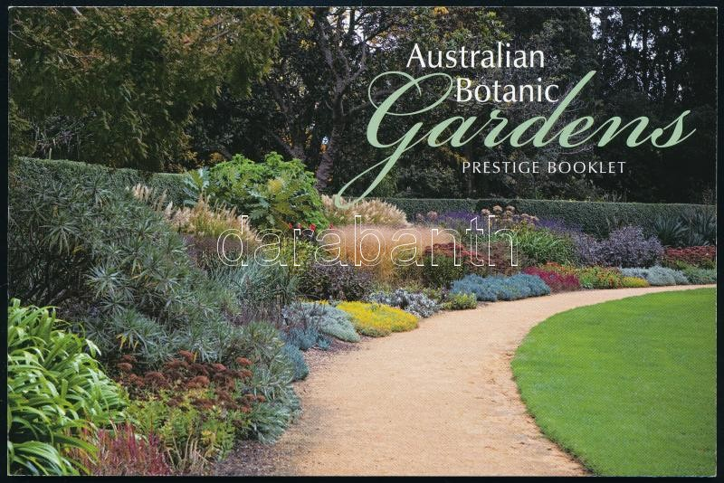 Botanic Gardens stamp booklet, Botanikus kertek bélyegfüzet