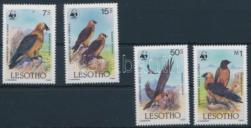 WWF: Szakállas saskeselyű sor, WWF: Bearded vulture set