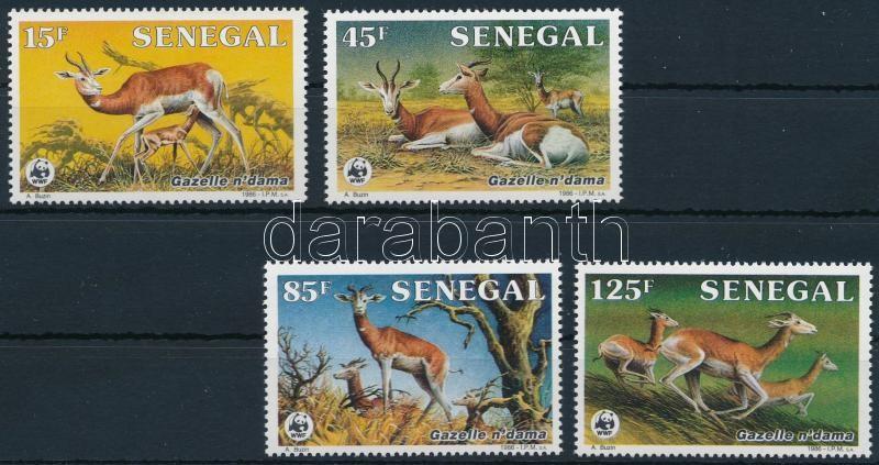 WWF: Dama gazelle set, WWF: Dámgazella sor
