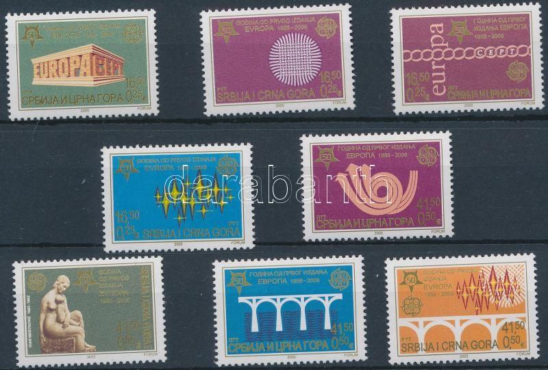 Europa CEPT set, 50 éves az Europa bélyeg sor