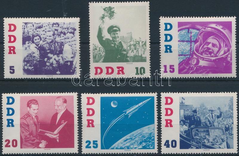 German Titow soviet  astronaut set, German Titow, szovjet űrhajós sor