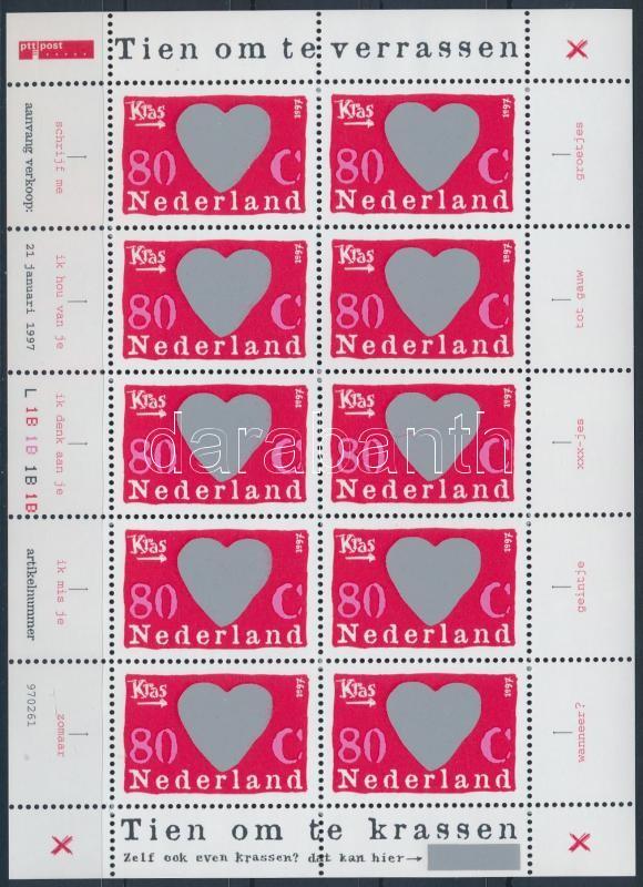 Surprise stamp minisheet, Meglepetésbélyeg kisív