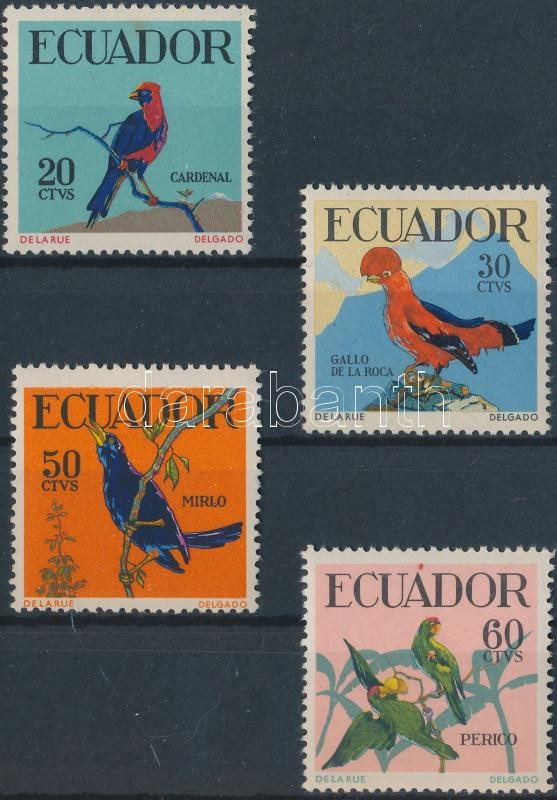Tropical Birds set, Trópusi madarak sor