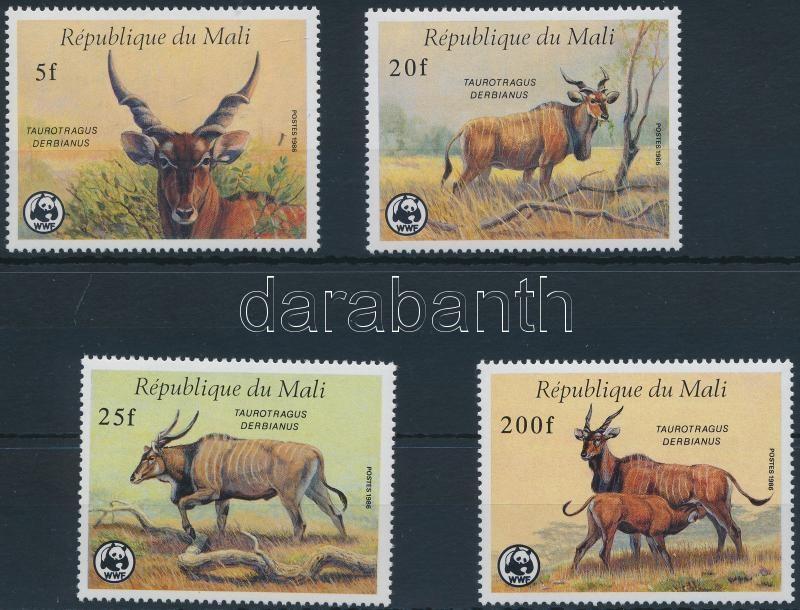WWF Giant eland set, WWF: Jávorantilop sor