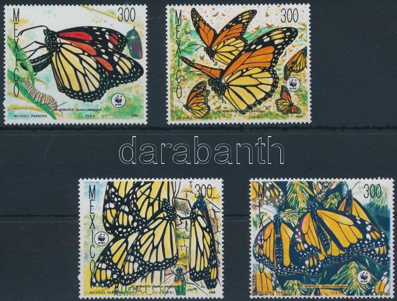 WWF: Monarch butterfly set, WWF: Pompás királylepke sor