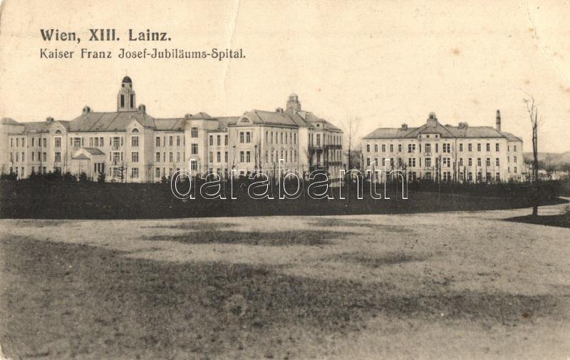 Vienna Wien Xiii Lainz Kaiser Franz Josef Jubiläums Spital
