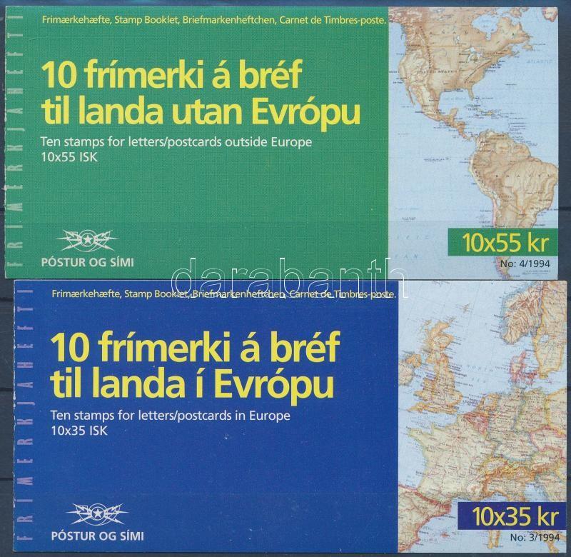 Europa CEPT 2 stamp booklet, Europa CEPT: Felfedezések és feltalálások 2 bélyegfüzet