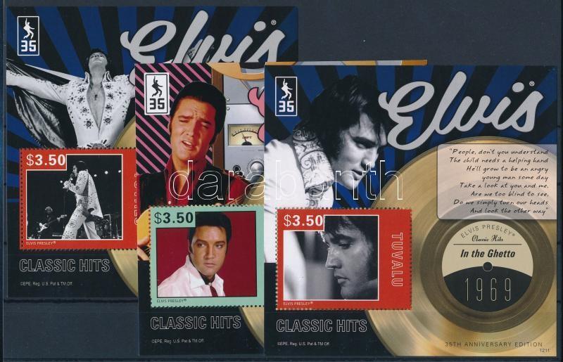 Elvis Presley 3 block, Elvis Presley 3 klf blokk