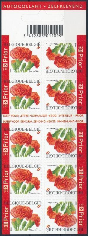 Flower stampbooklet, Virág bélyegfüzet