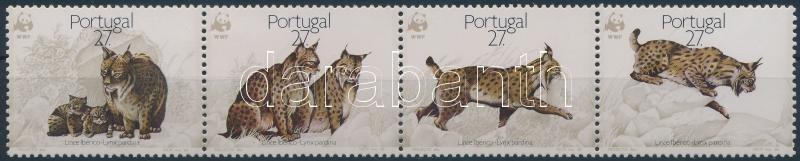 WWF: Lynx stripe of 4, WWF Hiúz négyescsík