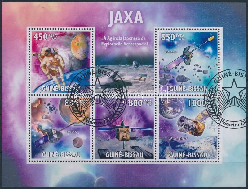Japanese space research agency minisheet, Japán űrkutatási ügynökség kisív