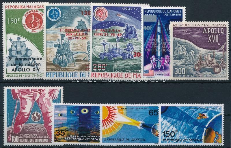 1973-1976 2 diff sets + 4 diff stamps, 1973-1976 2 klf sor + 4 klf önálló érték