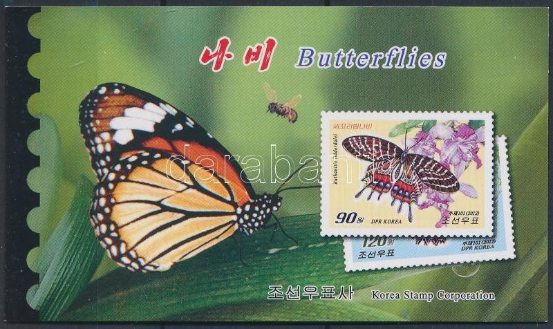 Butterfly stamp booklet, Lepkék bélyegfüzet