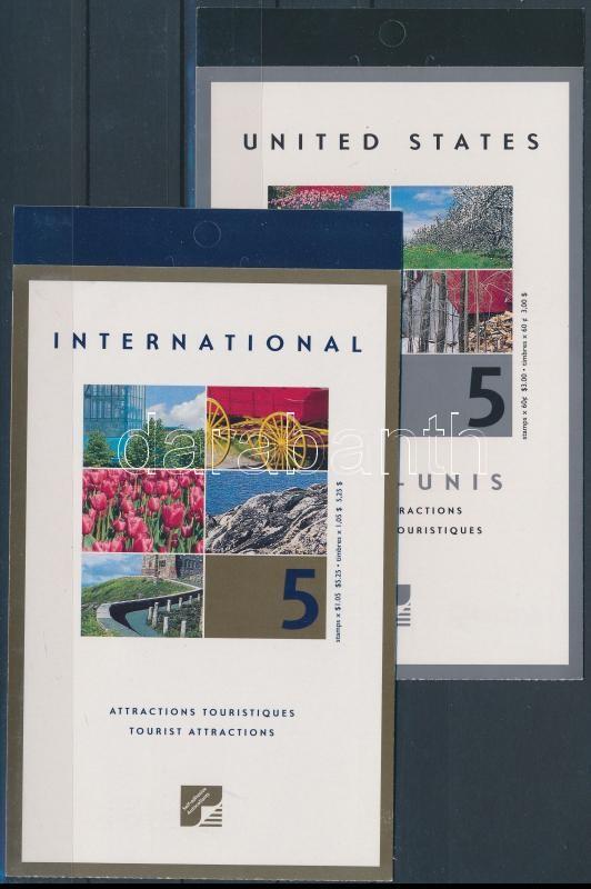 Tourism 2 stamp booklets, Turizmus 2 db bélyegfüzet